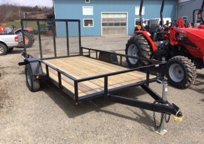 New 2017 Gatormade 6×12 Utility Trailer