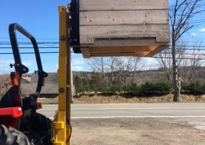 New 2017 ORSI 3 Point Hitch Fork Lifts