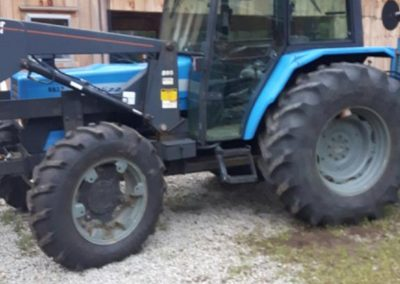 2000 Landini Blizzard Tractor with Allied 595 Loader