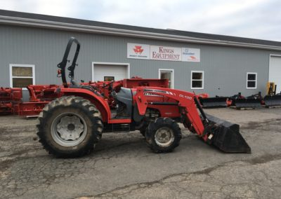 2012 Massey Ferguson 1660 Tractor with Loader
