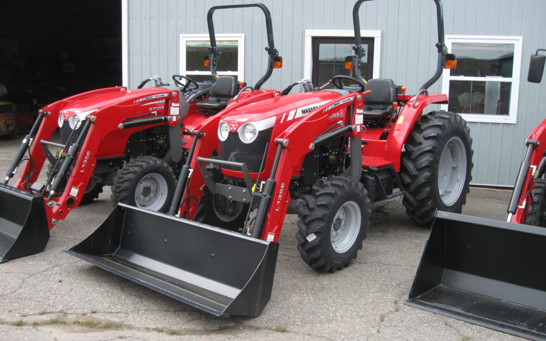 DEMO New 2018 Massey Ferguson 2705EL DEMO