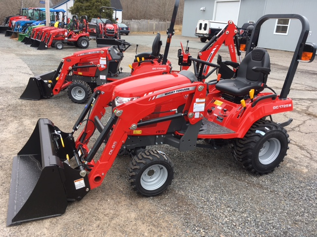 REDUCED New 2019 Massey Ferguson GC1725ML REDUCED