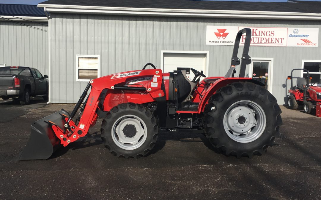 REDUCED New 2019 McCormick X4.30 Standard Rops Tractor REDUCED