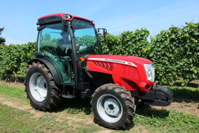 New 2018 McCormick X4.50F Orchard Tractor