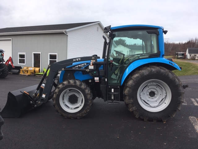 2017 Landini 4-080 Cab Tractor with Loader